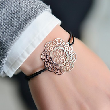 Fashion Women Cut Out Stamping Elastic Bracelet Christmas Gifts