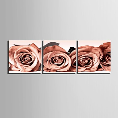 Botanikus Három elem Négyzet Nyomtatás fali dekoráció lakberendezési