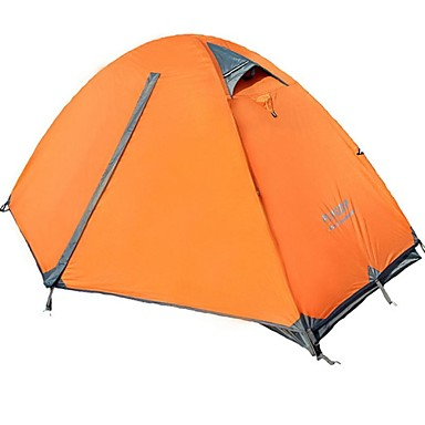FLYTOP 1 person Tent Double Camping Tent One Room Backpacking Tents Heat Insulation Moistureproof/Moisture Permeability Waterproof