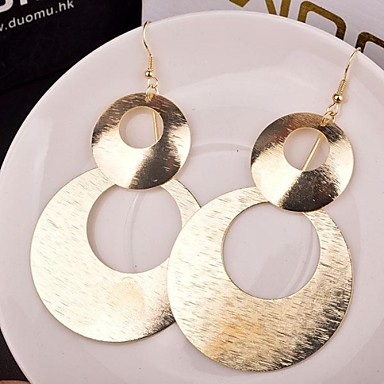 Damen Mehrlagig Stapelbar Tropfen-Ohrringe - damas Personalisiert Europäisch Mehrlagig Schmuck Gold / Silber Für Party Alltag Normal
