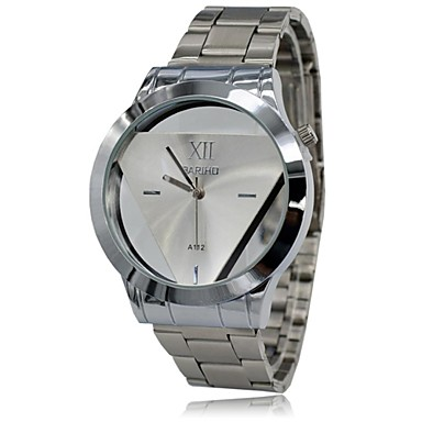 Men's Wrist Watch Casual Watch Stainless Steel Band Charm Silver / SODA AG4