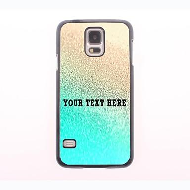 kişiselleştirilmiş telefon kılıfı - samsung galaxy s5 mini altın tasarım metal kasa