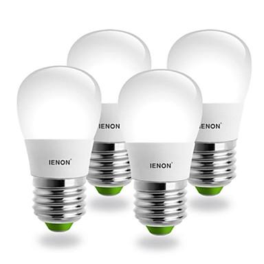 E26/E27 Круглые LED лампы S19 SMD 240-270 lm Холодный белый 6000 К AC 100-240 V