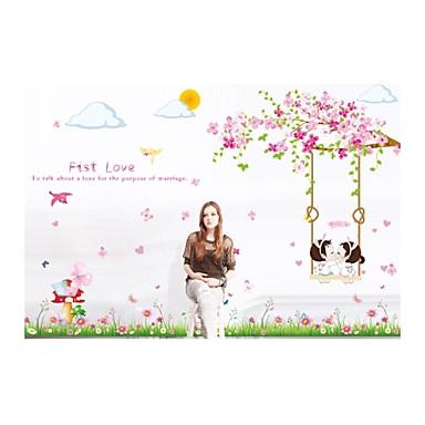 αυτοκόλλητα τοίχου αυτοκόλλητα τοίχου, αυτοκόλλητα τοίχου στυλ γροθιά PVC αγάπη