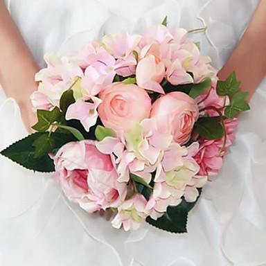 Bryllupsblomster Buketter Andre Bryllup Fest / aften Materiale Silke 0-20cm