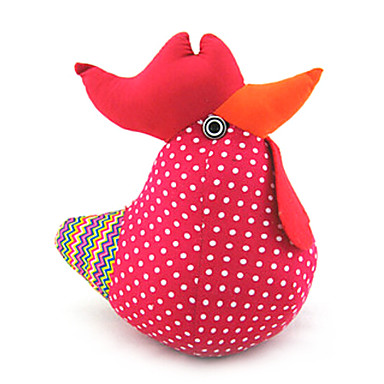 Cute Stuffed Easter Chicken Flower Color ,Cotton