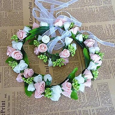 Women's Fabric Headpiece-Wedding Wreaths