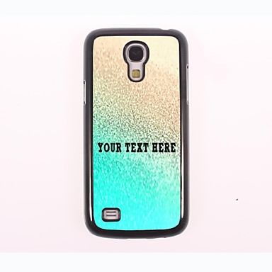 Personalized Phone Case - Gold Design Metal Case for Samsung Galaxy S4