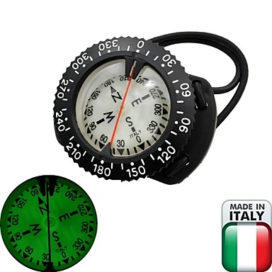 EZDIVE Scuba Diving Compass,Technique Diving Wrist Compass,Made In Italy