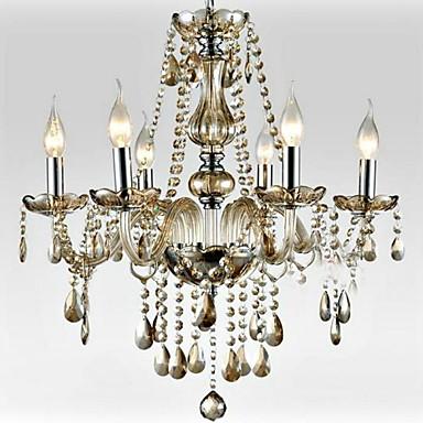 Kugel Laterne Traditionell-Klassisch Kronleuchter Raumbeleuchtung - Kristall, 110-120V 220-240V Glühbirne nicht inklusive