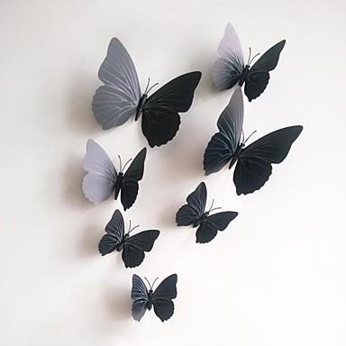 Moda Şekiller 3D Duvar Etiketler Uçak Duvar Çıkartmaları Dekoratif Duvar Çıkartmaları, Vinil Ev dekorasyonu Duvar Çıkartması Duvar Toilet