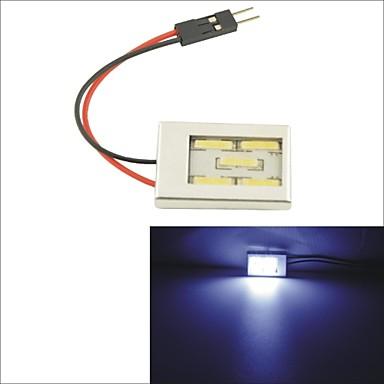 Carking™ T10 / Festoon 7014-5SMD Car LED Rome Lamp White Light (12V/Piece)