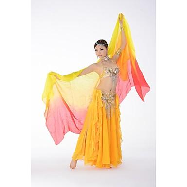 Tanz Accessoires Bühnenrequisiten Damen Training / Leistung Seide / Bauchtanz / Yoga / Aufführung