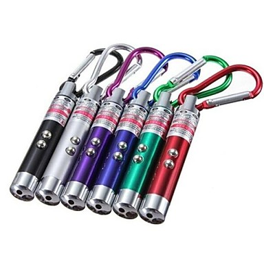 Φωτισμοί Φακοί Μπρελόκ LED Lumens Τρόπος - LR44 Έκτακτη Ανάγκη / Μικρό Μέγεθος / Τσέπη / Το υπεριώδες φωςΚατασκήνωση/Πεζοπορία/Εξερεύνηση