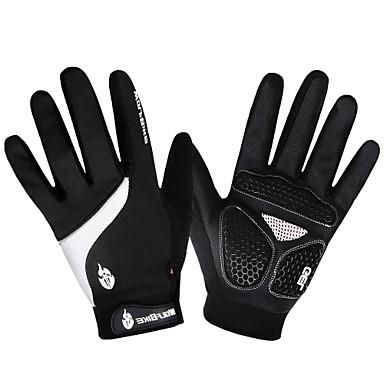 WOLFBIKE Спортивные перчатки Перчатки для велосипедистов Сохраняет тепло Быстровысыхающий С защитой от ветра Дышащий Износостойкий