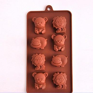 Mold Animal For Chocolate For Cookie For Cake Silicone Eco-friendly High Quality Nonstick
