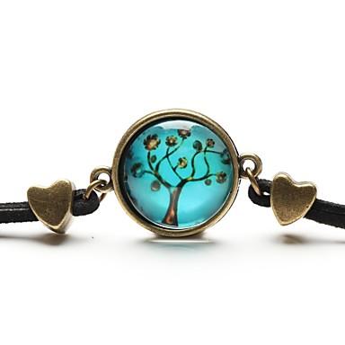 Dames Bedelarmbanden / Vriendschaps armband / Vintage Armbanden - Hars Vrienden Inspirerend Armbanden Goud / blauw Voor Kerstcadeaus / Dagelijks / Causaal