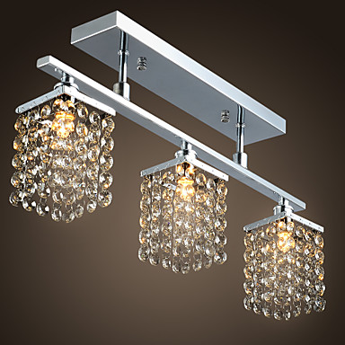 MAISHANG® Flush Mount Ambient Light - Crystal, Modern / Contemporary, 110-120V 220-240V Bulb Not Included