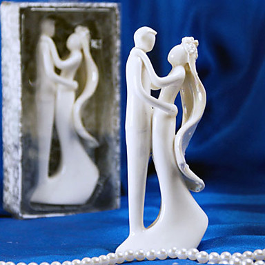 Cake Topper Garden Theme Ceramic Wedding Bridal Shower With Gift Box