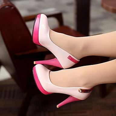 Similicuir Talon Blanc Chaussures Aiguille Eté Pour Rose Beige 02708780 Printemps Habillé Automne Femme Noir 5wUvRqXxAX