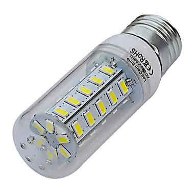 7W E26/E27 LED лампы типа Корн T 36 SMD 5730 560-630lm lm Тёплый белый / Холодный белый AC 220-240 V