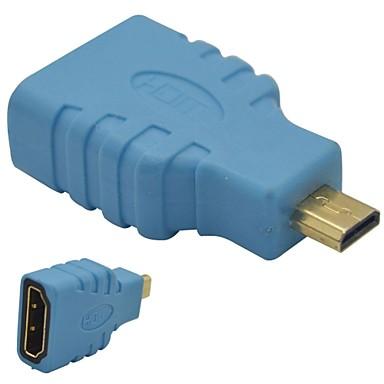 hdmi női mikro HDMI dugó adapter-kék