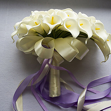 Branch PU Calla Lily Tabletop Flower Artificial Flowers