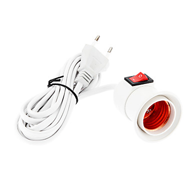 E27 With a Line Switch Connector 220v High Quality Lighting Accessory