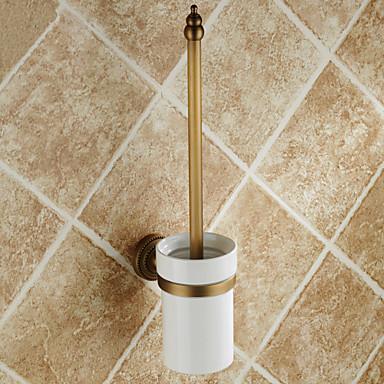 Toiletborstelhouder / Antiek Koper Antiek