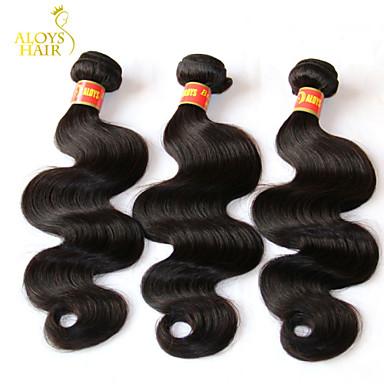 Mensenhaar - Zwart - Haarextensies - voor Vrouw - Golvend