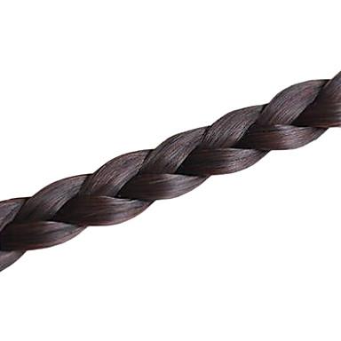 20 Zoll 22 Zoll Gemischtes Material Haar-Verlängerung Klassisch Haarwebart Alltag Gute Qualität
