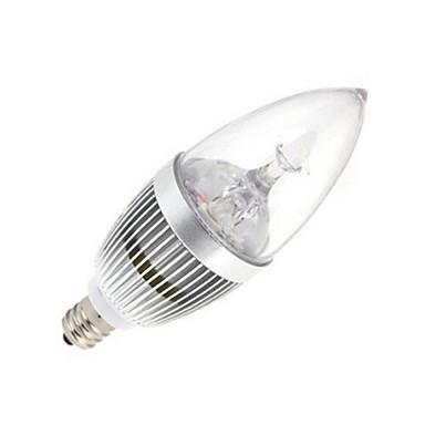 120 lm E14 LED-kaarslampen 5 leds Krachtige LED Warm wit Koel wit AC 85-265V