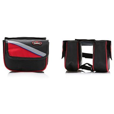 Basecamp Kerékpáros táska 5L Váztáska Vízálló / Porbiztos / Viselhető Kerékpáros táska 600D Ripstop Kerékpáros táska Kerékpározás /