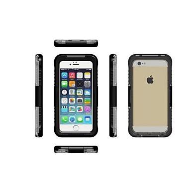 Pouzdro Uyumluluk Apple iPhone 6 iPhone 6 Plus Toz Geçirmez Su Geçirmez Tam Kaplama Kılıf Tek Renk Sert PC için iPhone 7 Plus iPhone 7