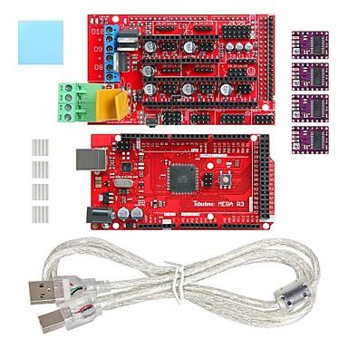 geeetech 3d printer mega 2560 + oprit 1.4 schild + drv8825 stepper driver set uit te breiden