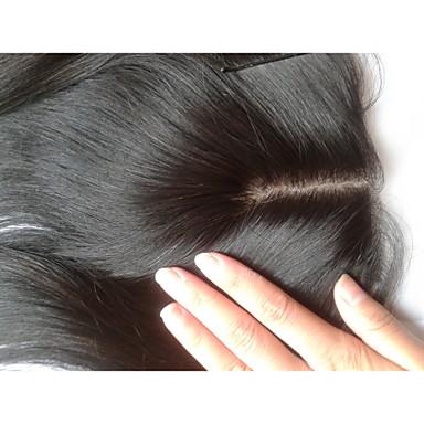 여성 - 머리카락 - 브라운 - 헤어 확장 - 직진