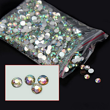 5000 Biżuteria do paznokci Streszczenie Modny List Wysoka jakość Codzienny