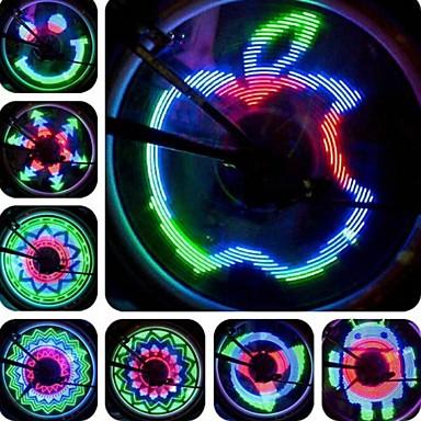 Bisiklet Işıkları tekerlek ışıkları LED Cree Bisiklet Su Geçirmez Programlanabilir LED Işık AAA Lümen USB Bisiklete biniciliği