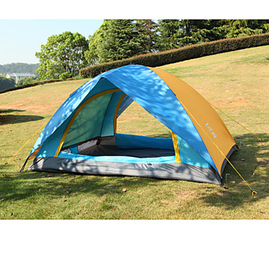 AOTU 2 Persoons Tent Dubbel Kampeer tent VochtBestendig Goed-Geventileerde waterdicht Winddicht Regenbestendig Stofbestendig voor Jagen
