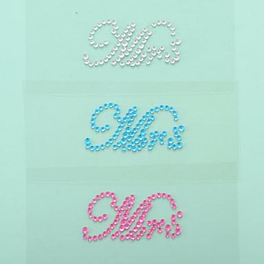 가든 테마 - 스티커 (화이트/핑크/블루 , 방수 원재