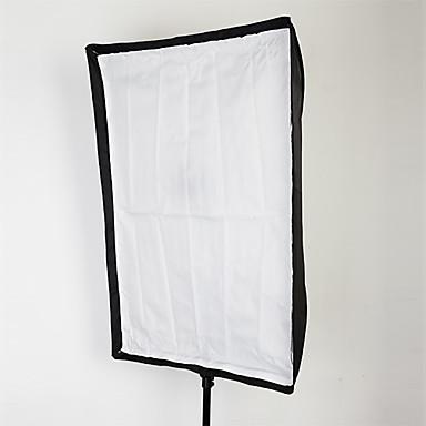 스피드 라이트를위한 우산 형 사각 소프트 박스 반사 우산 60x90cm (24