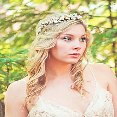 Flower Crown, Rustic Head Wreath, Wedding Headband, Bridal Hair, Wedding Crown  Flower Headband