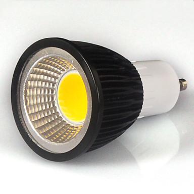 550-600lm GU10 LED 스팟 조명 MR16 1 LED 비즈 COB 따뜻한 화이트 / 차가운 화이트 / 내추럴 화이트 85-265V