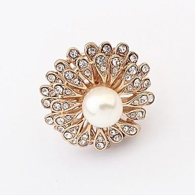Prstenje Prilagodljivo Party Jewelry Legura / Umjetno drago kamenje Žene Prstenje sa stavom 1pc,Univerzalna veličina Bijela