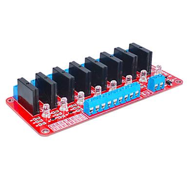 åtte for Arduino solid state relé (rød)