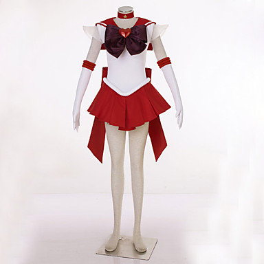 Inspiriert von Sailor Moon Sailor Uranus Video Spiel Cosplay Kostüme Cosplay Kostüme Patchwork Kleid / Kopfbedeckung / Handschuhe Halloween Kostüme