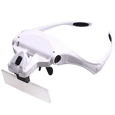 Monocular Magnifiers/Magnifier Glasses Headset/Eyewear Generic 1x / 1.5x / 2.0x / 2.5x / 3.5x 85 Plastic