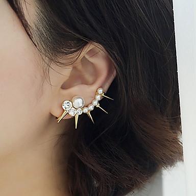 Femme Poignets oreille Luxe Perle Imitation de perle Imitation Diamant Alliage Bijoux Bijoux de fantaisie