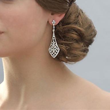 Ezüst - Női - Lógó fülbevalók