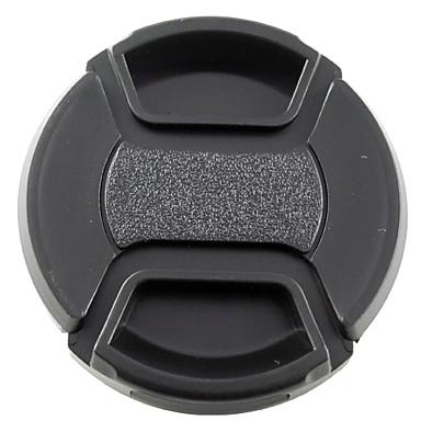 mengs® 55mm geçmeli nikon canon ve sony için dize / tasma ile objektif kapağı kapağı